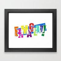 Ermagerd! Framed Art Print