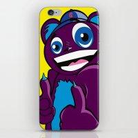 Rad Bear  iPhone & iPod Skin