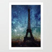 Cosmic Tower II Art Print