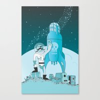 Space Pirate! Canvas Print