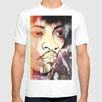 Purple Haze Mens Fitted Tee White SMALL