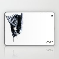 Alien Head Side Laptop & iPad Skin