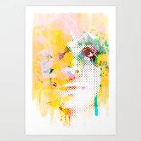 XOXO Badu Cerca Art Print