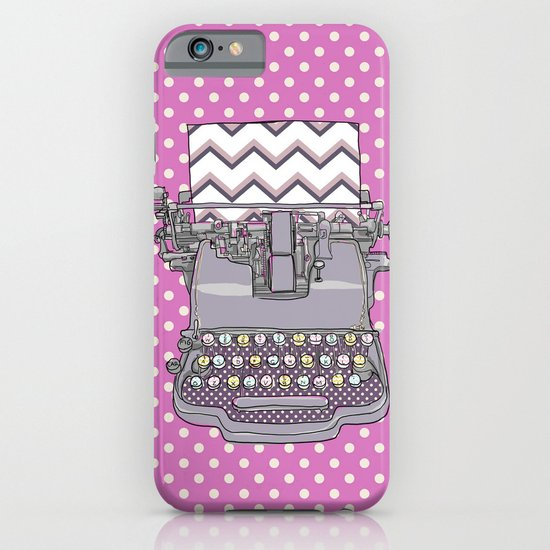 Just My Type iPhone & iPod Case