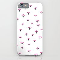 iPhone & iPod Case featuring Pink flowers by Berreca