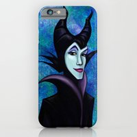 iPhone & iPod Case featuring Maleficent by Kimberly Castello