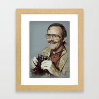 I.am.nerd. :: Danforth F… Framed Art Print
