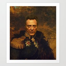 Christopher Walken - Rep… Art Print