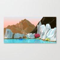 Ice gem Canvas Print