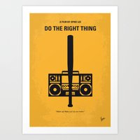 No179 My Do The Right Th… Art Print
