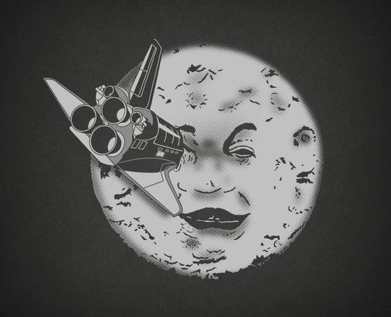 Méliès's moon: Times are changing. Art Print
