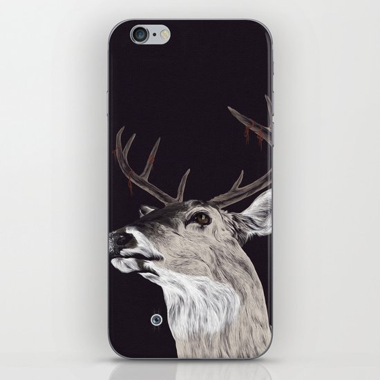 Deer (remindeer) iPhone & iPod Skin