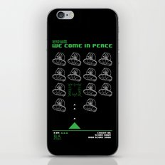 Abduction From Uranus iPhone & iPod Skin