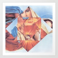 Virgin Mary  Art Print