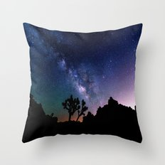 the milky way. Throw Pillow