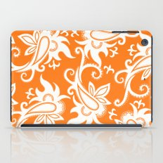 Paisley: Orange Ivory iPad Case