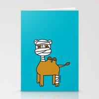 Bandage Camel Stationery Cards