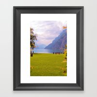 View Framed Art Print