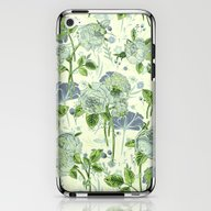 Soft Floral iPhone & iPod Skin