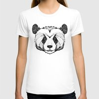 panda T-shirts featuring Panda by Andreas Preis