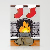 Canine Christmas (Firesi… Stationery Cards