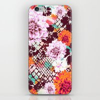 Croc Floral iPhone & iPod Skin