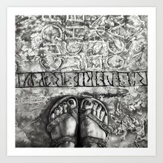 Art Beneath Our Feet Pro… Art Print