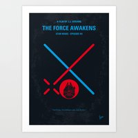 No591 My SW Episode VII … Art Print