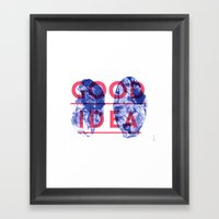 Good Idea Framed Art Print