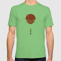 Japan Relief Poster/all … Mens Fitted Tee Grass SMALL