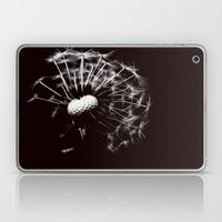 Dandelion Black & White Laptop & iPad Skin