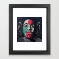 Colour Pressure Autorret… Framed Art Print