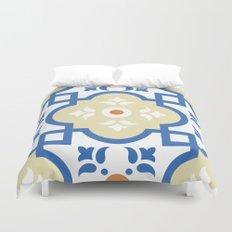Floor Tile 1 Duvet Cover
