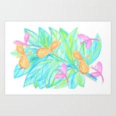 Dragon Flys Art Print