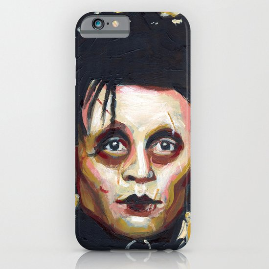 Edward Scissorhands - Johnny Depp iPhone & iPod Case