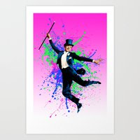 Astaire Fred, still dancing. Art Print