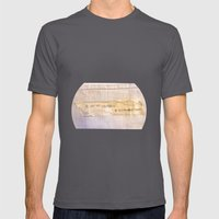 Yourself Mens Fitted Tee Asphalt SMALL