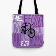 The Most Efficient Machi… Tote Bag