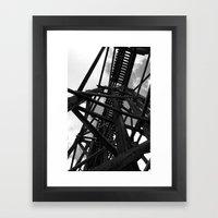 Historic Bridge Framed Art Print