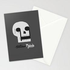 Somber Melody Stationery Cards