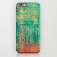 iPhone Cases featuring Vintage Metal by Patterns and Textures