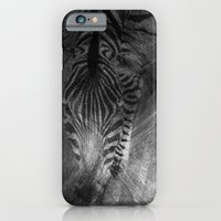 iPhone & iPod Case featuring Zebra by TaLins