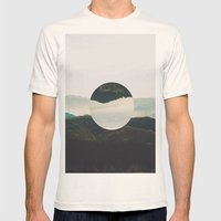 Up Side Down Mens Fitted Tee Natural SMALL