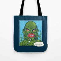 The Sultry Lagoon Tote Bag