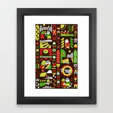 Folktale Framed Art Print