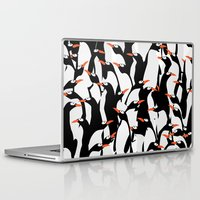 penguin Laptop & iPad Skins featuring Penguin by Rceeh