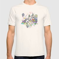 OURS OURS OURS Mens Fitted Tee Natural SMALL