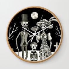 Family Portrait of the Passed Wall Clock
