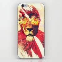 Lion Zion iPhone & iPod Skin