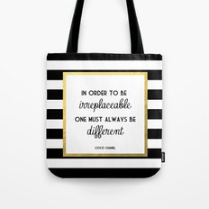 Coco Gold Irreplaceable … Tote Bag